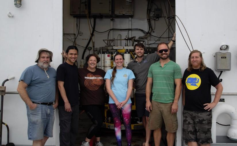 Teamwork makes the dream work: the Scripps technicians ofGP15