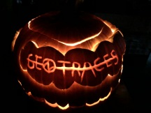 Leave it to the Co-chief Scientists to create a GEOTRACES GP15 themed jack-o-lantern.